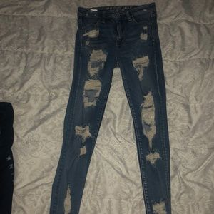 American Eagle Outfitters Jeans - American eagle shredder jeans